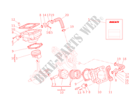 CYLINDRES   PISTONS pour Ducati 748 2002