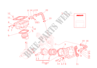 CYLINDRES   PISTONS pour Ducati ST4 2002