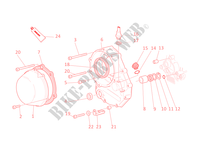 CARTER EMBRAYAGE pour Ducati ST4 S 2001