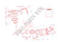 CYLINDRES   PISTONS pour Ducati ST4 S 2001