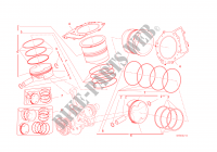 CYLINDRES   PISTONS pour Ducati 1299 Panigale S 2016