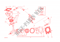 CYLINDRES   PISTONS pour Ducati Monster 1200  2016