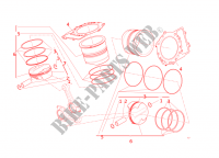 CYLINDRES   PISTONS pour Ducati Panigale R 2016
