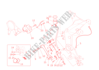 FREIN ARRIERE pour Ducati Multistrada 1200 ABS 2011