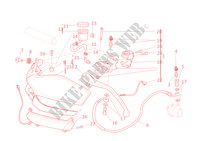 MAITRE CYLINDRE D'EMBRAYAGE pour Ducati Multistrada 1200 ABS 2011