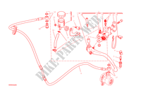 MAITRE CYLINDRE D'EMBRAYAGE pour Ducati Monster 1200 S 2015
