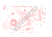 ALTERNATEUR pour Ducati Monster 1100 EVO 2013
