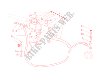 MAITRE CYLINDRE D'EMBRAYAGE Monster 795 Monster ducati-moto 2012 Monster 795 29