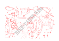 GUIDON ET COMMODOS Monster 696 ABS Monster ducati-moto 2011 Monster 696 ABS 30