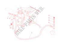 MAITRE CYLINDRE D'EMBRAYAGE Monster 696 ABS Monster ducati-moto 2011 Monster 696 ABS 31