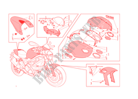 ART KIT pour Ducati Monster 1100 EVO 2011