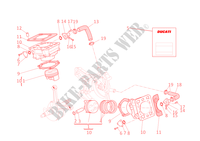 CYLINDRES   PISTONS pour Ducati Monster S4R 2003