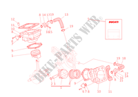 CYLINDRES   PISTONS pour Ducati Monster S4 2002