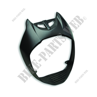 CARBON HEADLIGHT COVER SET 1309-Ducati